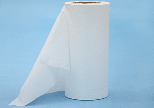 Chitin fiber spunlace non-woven fabric