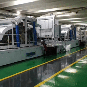 Spunlace nonwoven machine