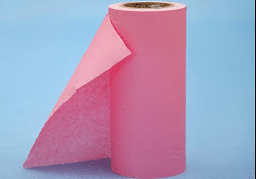 Wood pulp composite spunlace nonwoven fabrics